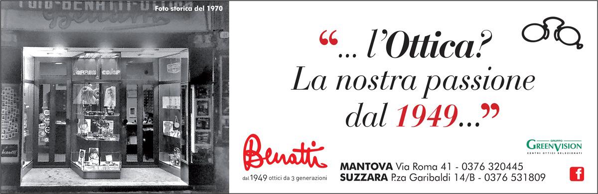 Negozio ottica Mantova e Suzzara